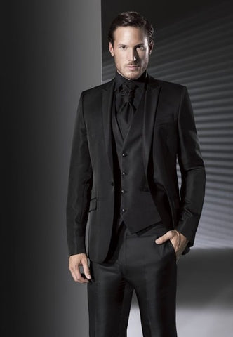 Black suit combinations in 2018 rampley and co for Black suit with black shirt and tie