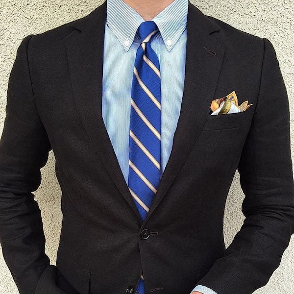 3608a6f230e Black Suit Combinations In 2019