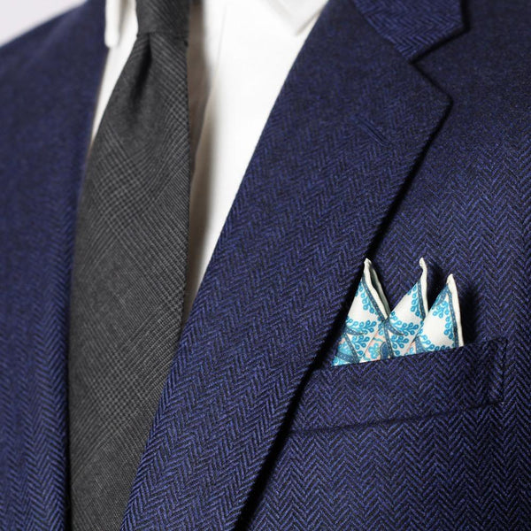 Persian Flower Pocket Square Collection