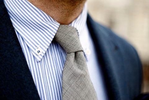 Button down collar