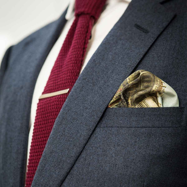 Canaletto Pocket Square Puff Fold