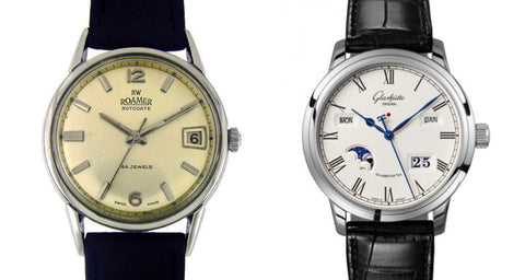 Classic watches for a suit