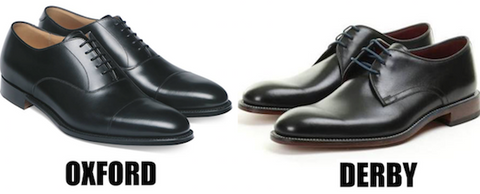 Oxford vs Derby Shoes