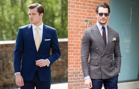Difference between single and double breasted suit