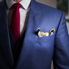 Double Point Roll - Pocket Square