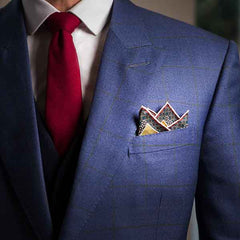 Four Point Fold - Pocket Square