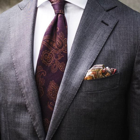 How to fold a pocket square for a wedding image 1