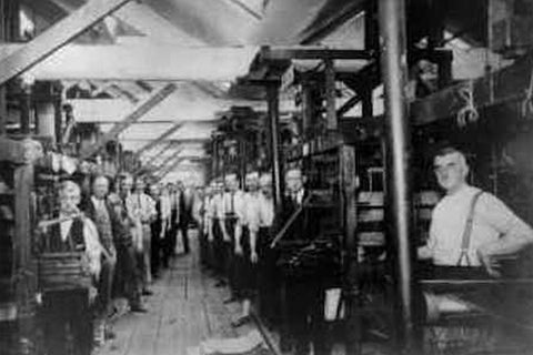 Macclesfield Silk Production