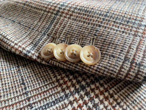 Yellow Riders Jacket Button Detail