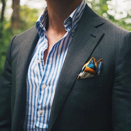 Pocket square for suit