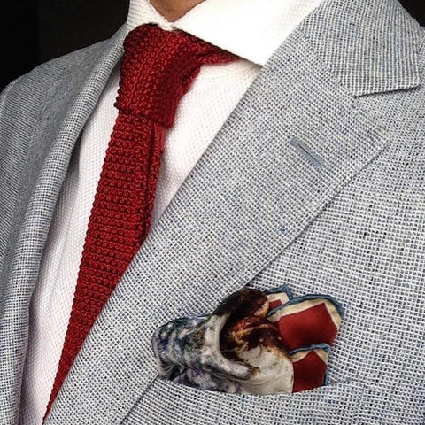 how to make a pocket square holder