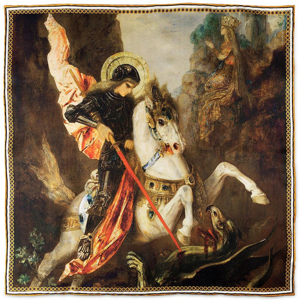 St George & The Dragon by Moreau