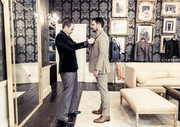 Savile Row Fitting
