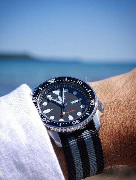 Seiko 007 Dive Watch