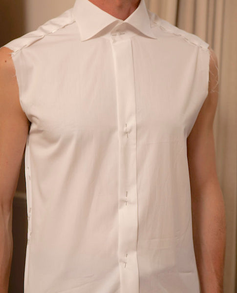 Sleeveless Basted Muslin