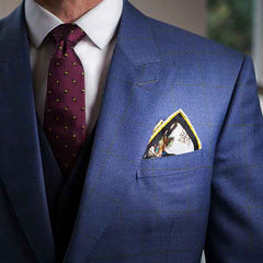 Two Point Fold - Pocket Square