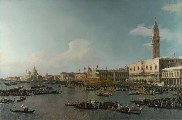 Venice: The Basin of San Marco on Ascension Day 1740