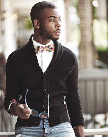 How To Wear A Bow Tie Casually