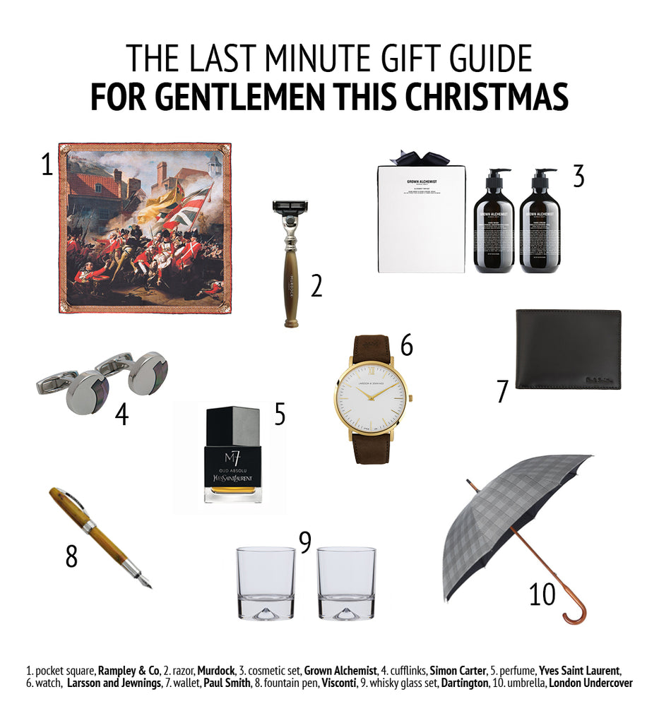 Last Minute Xmas Guide