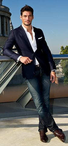 Tailored Jacket and Jeans