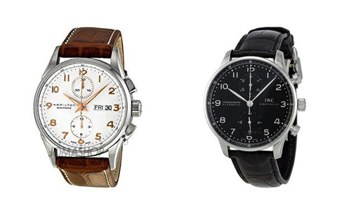 choose watch for a suit