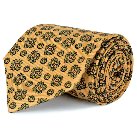 Burnished Gold Silk Twill Tie