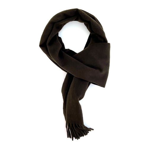 Hickory Brown Cashmere Scarf