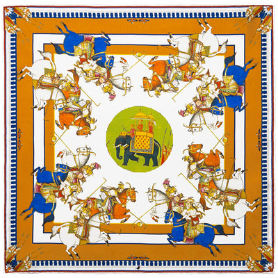 Paintings Of India British Museum Pocket Square