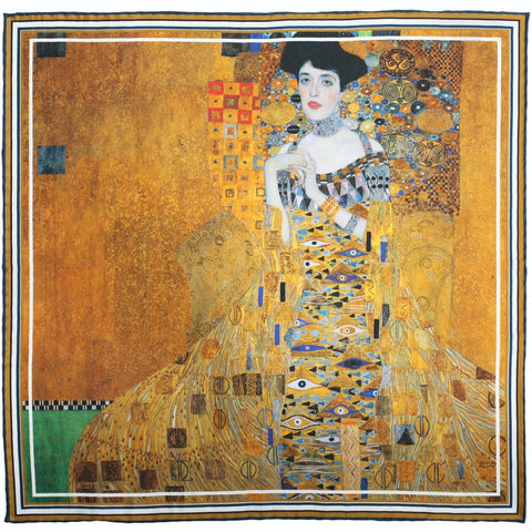 Portrait of Adele Bloch-Bauer I Pocket Square
