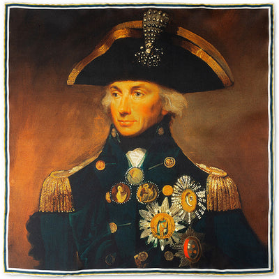 Rear Admiral Horatio Nelson Pocket Square