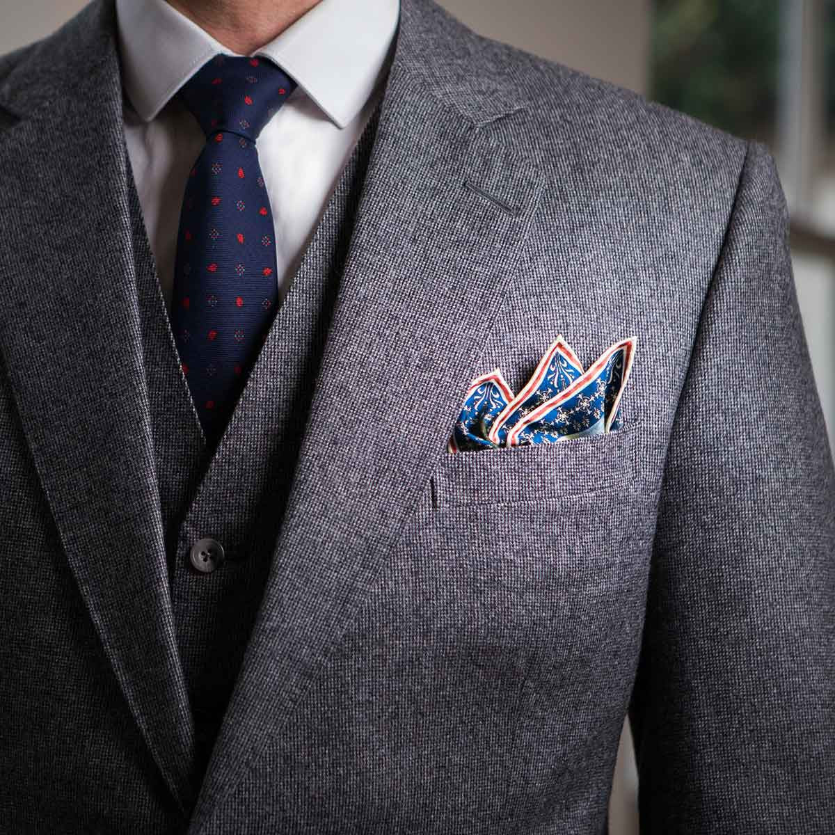 The History Of The Pocket Square Rampley And Co