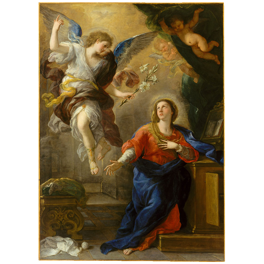 the annunciation by giordano rampley and co