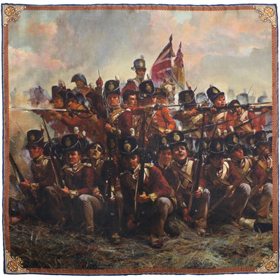 The 28th Regiment at Quatre Bras Pocket Square