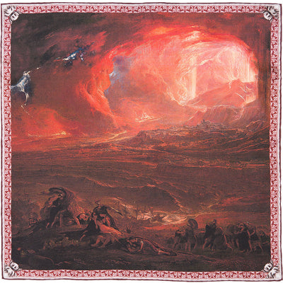 The Destruction of Pompeii and Herculaneum Pocket Square