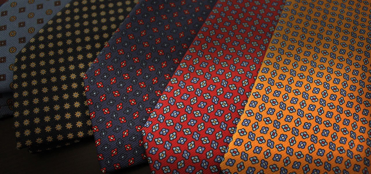 100% Silk & Wool Ties