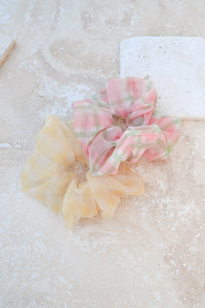Organza Uplifting Scrunchie Set