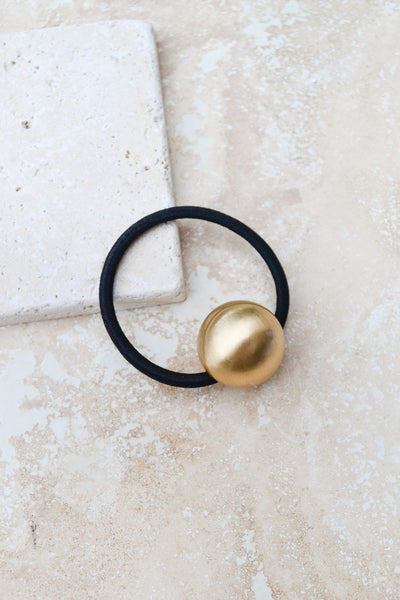 Metal Ball Hair Tie