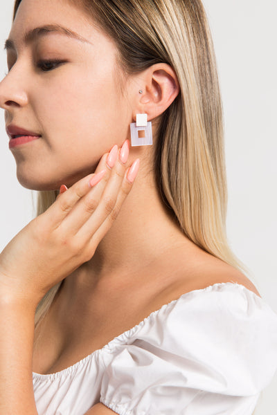 Perfect Square Earrings