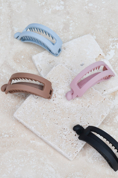 Rectangle Twist Hair Clip