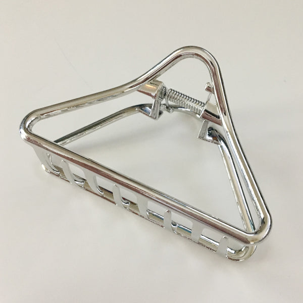 Metal Triangle Hair Clip