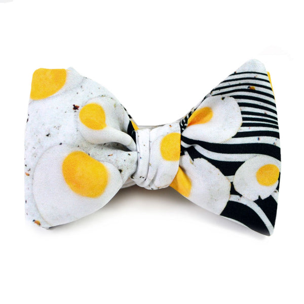 Flying Eggs Bow Tie