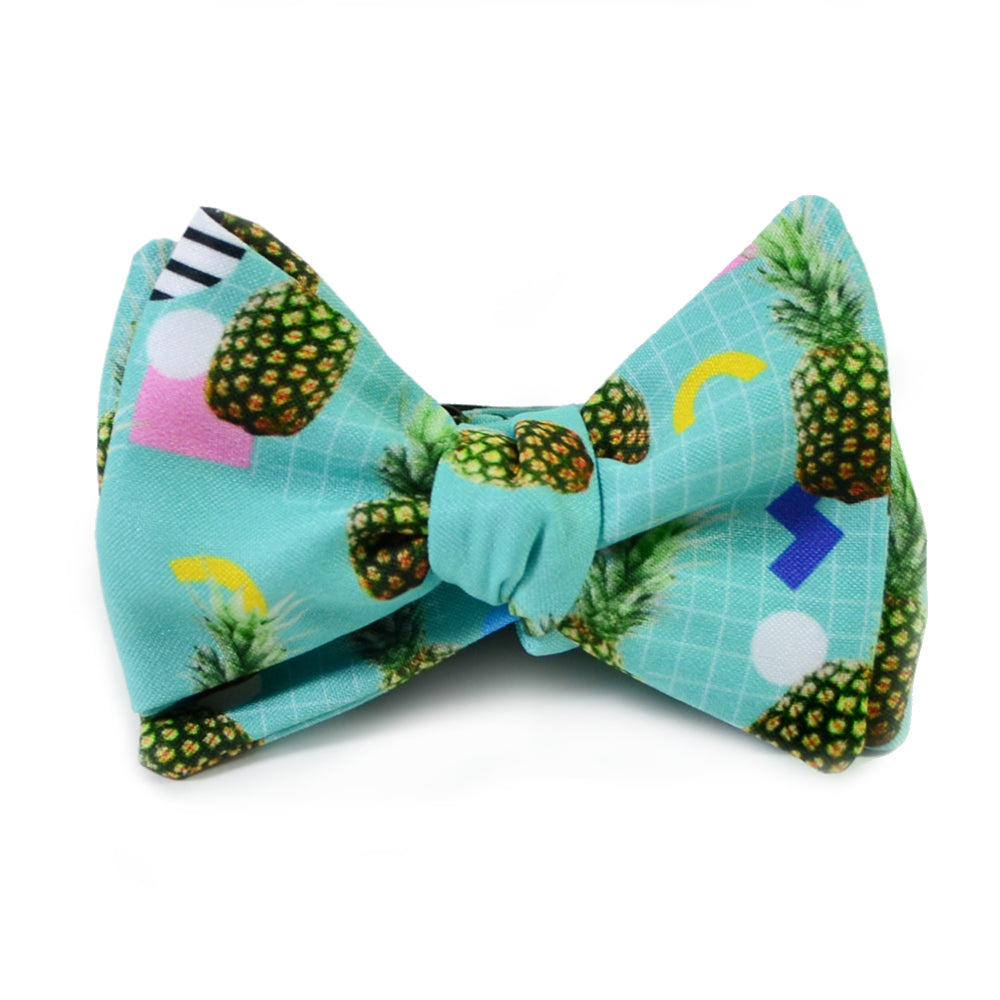 Pineapple Facts Bow Tie Tiepology