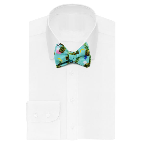 Pineapple Facts Bow Tie