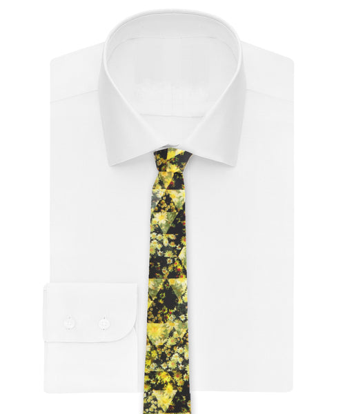 Geometry Common daisy Tie