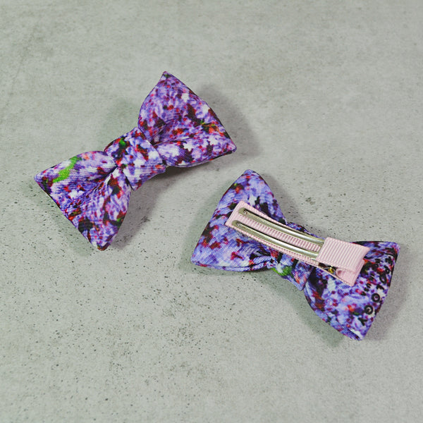 Tiepology Kids Pony Hair Bow Clip Set