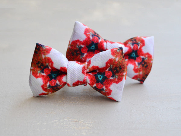 Tiepology Kids' Bird Ribbon Hair Bow Clips