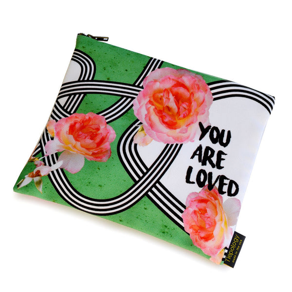 Rose Garden Travel Pouch