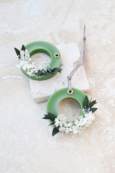 Floral O Ring Air Freshener