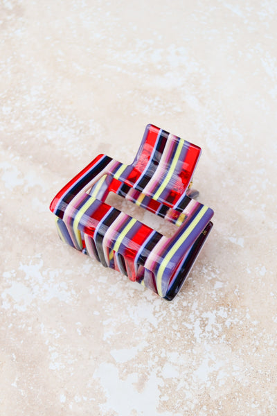 Multi Square Cell Hair Clip