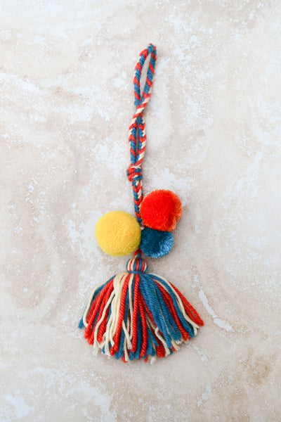 Pom Pom Key Holder